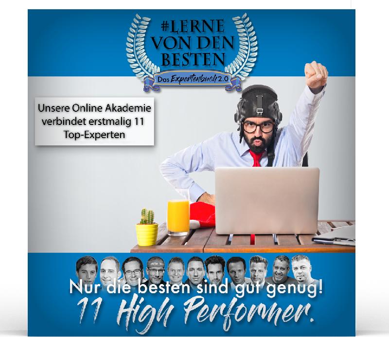 Lerne von den Besten – Einladung zur Online Akademie